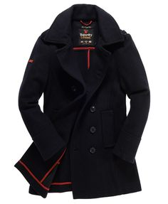 Superdry Bridge Coat - Men's Jackets  Need want neeeeddd wanntttt.   I love this Coat!