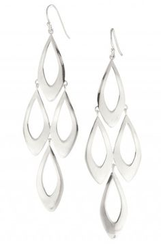 Stella & Dot NEW LIMITED EDITION - Escapade Earrings - Silver- http://www.stelladot.com/ts/yfvr5