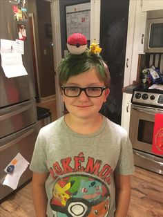 Pokémon Wacky Hair Day and Dan TDM inspired. #pokemon #dantdm