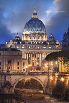 Basilique Saint-pierre de Rome - Antonio GAUDENCIO | Flickr - Photo Sharing!