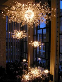 Take me to The Met to see La Boheme (and these chandeliers), just like Moonstruck.