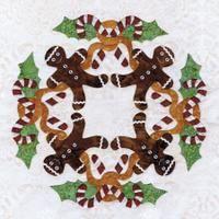 Blk #2 Candy Cane Wreath