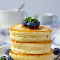 Pretty good. A good change to the traditional pancakes. Fluffy and sweet Japanese hot cakes