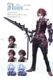 Kimihiko Fujisaka's Nowe from Drakengard II, utterly amazing