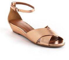 Marc by Marc Jacobs Leather Demi Wedge Sandals on shopstyle.com