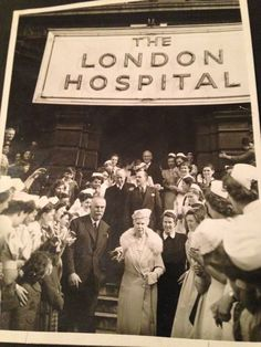 The London Hospital. Vintage Nurse, Vintage Medical, East End London, Old London, Male Nurse, Call The Midwife, Bethnal Green, Nursing Career, Brick Lane