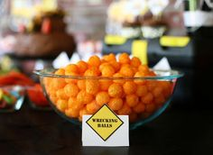 Construction Birthday Party Ideas | Photo 1 of 14 | Catch My Party