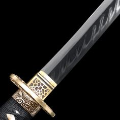 Handmade T10 Carbon Steel Dragon Tsuba Real Hamon Japanese | Etsy Katana Swords, Samurai Swords, Knives And Swords, 1095 Steel, Best Wraps, How Beautiful, Dragon, Clay, Japanese