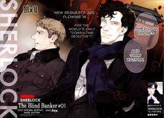 The Active Scrawler: Rosy's scrawled manga recommendation: Sherlock by ...