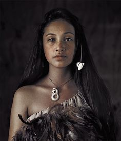 pinterest.com/fra411 #ethnic - Rauwhiri Winitana – Paki Taupo Village – Northern New Zealand – © Jimmy Nelson