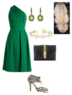 """Untitled #549"" by lovelifesdreams on Polyvore featuring Bionda Castana, Preen, Annoushka and Gucci"