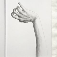 """Hand. 11"""" x 8 1/2"""" sketchbook. Graphite pencil. 2015. By: Marissa Asal (The_Lovely_Drawing on Instagram)"""