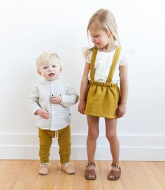 Childhoods Spring clothing line for boys and girls. - Children´s fashion - Moda infantil - Carlos y Carlota