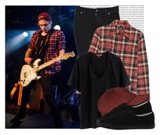 """""""Get His Look: Luke Hemmings"""" by prettyorchid22 ❤ liked on Polyvore featuring Lee, A.P.C., Rebecca Minkoff and Vans"""