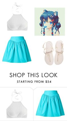 """Yukii"" by otakulover12344 on Polyvore featuring J.Crew, Moschino and Havaianas"