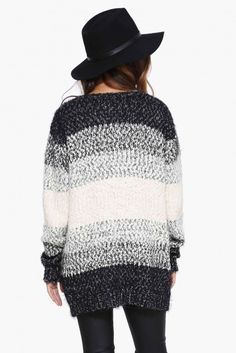 Flavored Brilliance Cardigan in Grey   Necessary Clothing