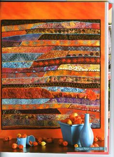 Dijanne has recently had her Gypsy Blanket published in Magic Patch magazine Small Quilts, Mini Quilts, Circle Quilts, Quilting Designs, Art Quilting, Quilt Art, Quilting Projects, Textiles, Contemporary Quilts