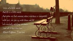 "Robert Fulghum – ""True Love"" | Fabulous Quotes"