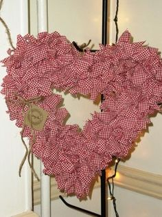 Fabric Heart Handmade by Jennylou - Country Charm Furnishings