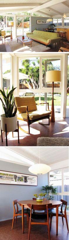 Stol (MCM) Mid Century Modern Style