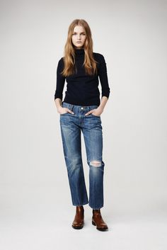 Frame Denim RTW Fall 2015 [Courtesy Photo]