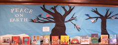 Library patrons can stop and decorate a bird to add to our winter display in the children's room at Davis Library.