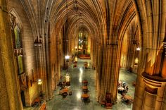Pitt's campus has the Cathedral of Learning. | 16 Reasons Why Pittsburgh Is The Greatest City On The Planet