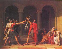 Cuadro de la Antigua Roma