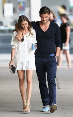 THE OLIVIA PALERMO LOOKBOOK: Olivia Palermo With Johannes Huebl in Brooklyn