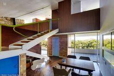 Thurlow House by Australian MCM architect Harry Seidler
