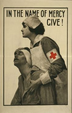 You probably already knew that the Red Cross has done some great humanitarian work for the last 149 years, but did you know they're also responsible for some seriously great artwork?   All images are in the public domain and can be found in the U.S. Library of Congress Photo Catalog.