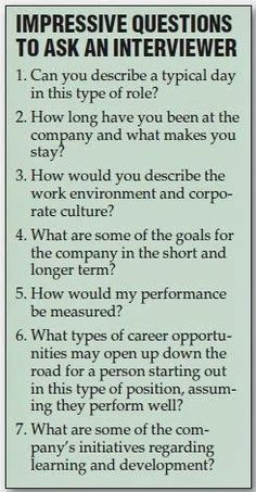 Resume Tips : Great Questions to ask the interviewer during a job interview. Still feeling a little rusty on the whole job searching process? No problem. GO Charleston Deals has a great deal on Interview Coaching just for you! Job Interview Questions, Job Interview Tips, Job Interviews, Interview Coaching, Interview Techniques, Preparing For An Interview, Job Interview Makeup, Teaching Interview, Job Interview Preparation
