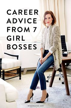 Girl Bosses Share Their Best Career Advice Listen up, aspiring fearless leaders! Here's some valuable advice from 7 girl bossesListen up, aspiring fearless leaders! Here's some valuable advice from 7 girl bosses