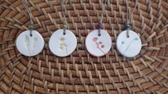 Essential Oil Diffuser Necklace by sweetbranchclay on Etsy