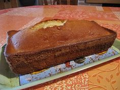 A table !: Cake au citron de Pierre Hermé