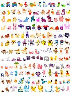 Poke pixel art