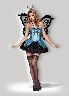52149f5a2d5dc Women Madame Butterfly Dress SIZE M Halloween Costume w  wings  fashion   clothing