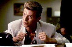 David Bowie as Agent Phillip Jeffries in 'Twin Peaks: Fire Walk With Me', 1992.