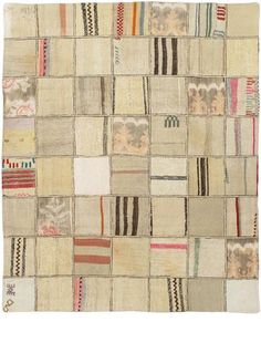 "Item 36923 : Hand Woven Moldovia Duo Patch Transitional Rectangular Wool Kilim 4'5"" X 5'5"" : eCarpetGallery"