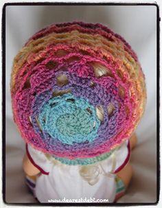 Valentine Hearts Bonnet