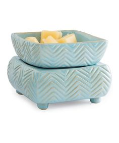 Look at this Candle Warmers Zigzag Candle & Wax Warmer on #zulily today!