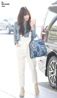 Team ☆ εїз TaeTae εїз (150425 Tiffany @ Gimpo Airport。(via The White...)