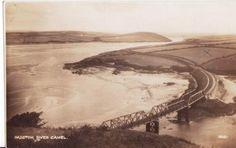 THE IRON BRIDGE | River Camel, Padstow, Cornwall     ✫ღ⊰n