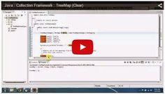 JAVA EE: Java : Collection Framework : TreeMap (Clear)