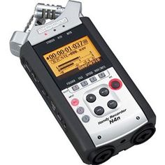 Zoom H4n - Audio Recorder Dual onboard microphones, two XLR inputs. Ideal for all sorts of audio recording applications.