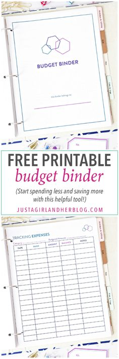 Free Printable Budget Binder : Love these beautiful organization printables! I know they will help me stay organized all year long! Click through to read more!