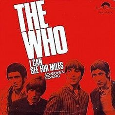 The Who Dutch 45 My Generation Very Rare Picture Sleeve