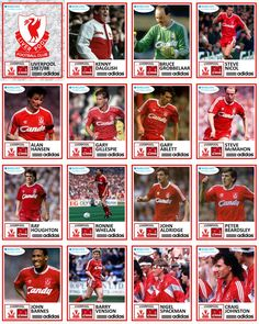 Liverpool team stickers for Free Football, Best Football Team, Arsenal Football, Football Kits, Football Cards, Football Stickers, Football Soccer, Liverpool Players, Fc Liverpool