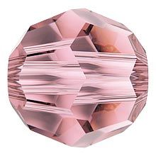 Swarovski Bead art. 5000 Crystal Antique Pink
