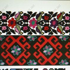 Схема Борщівської вишиванки з колекції Віри Матковської  7a334eefadc28